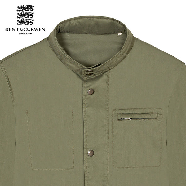 High Neck Military Jacket