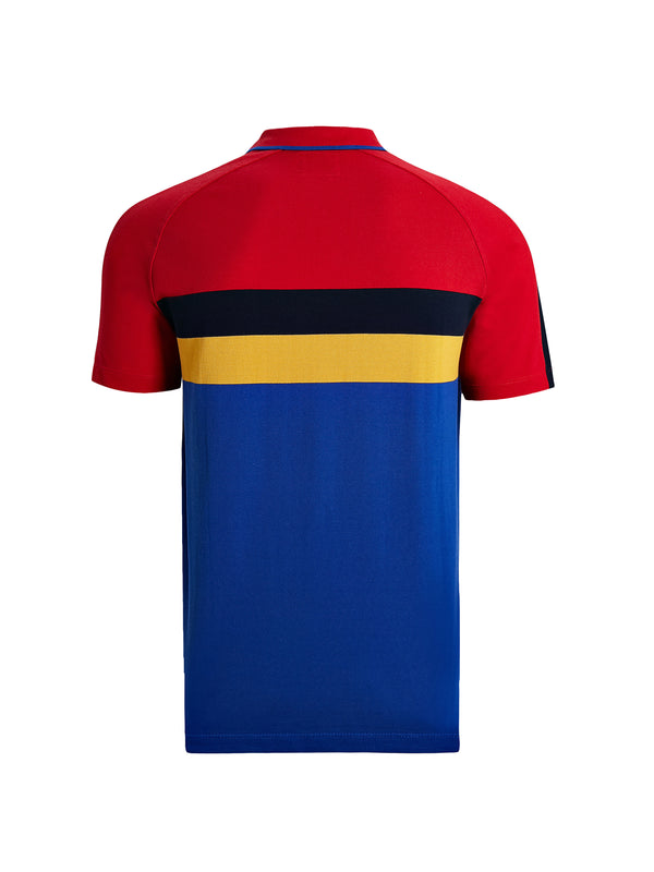 Colour-Block Polo Shirt