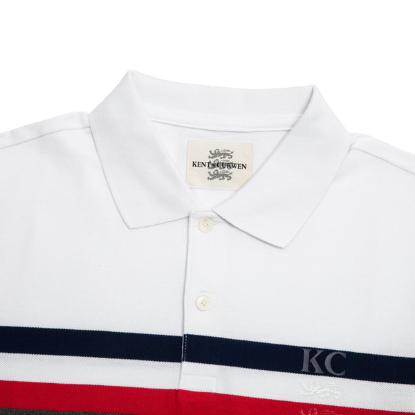 Striped Detail Polo Shirt
