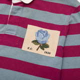 Rose Of England Patch Striped Rugby