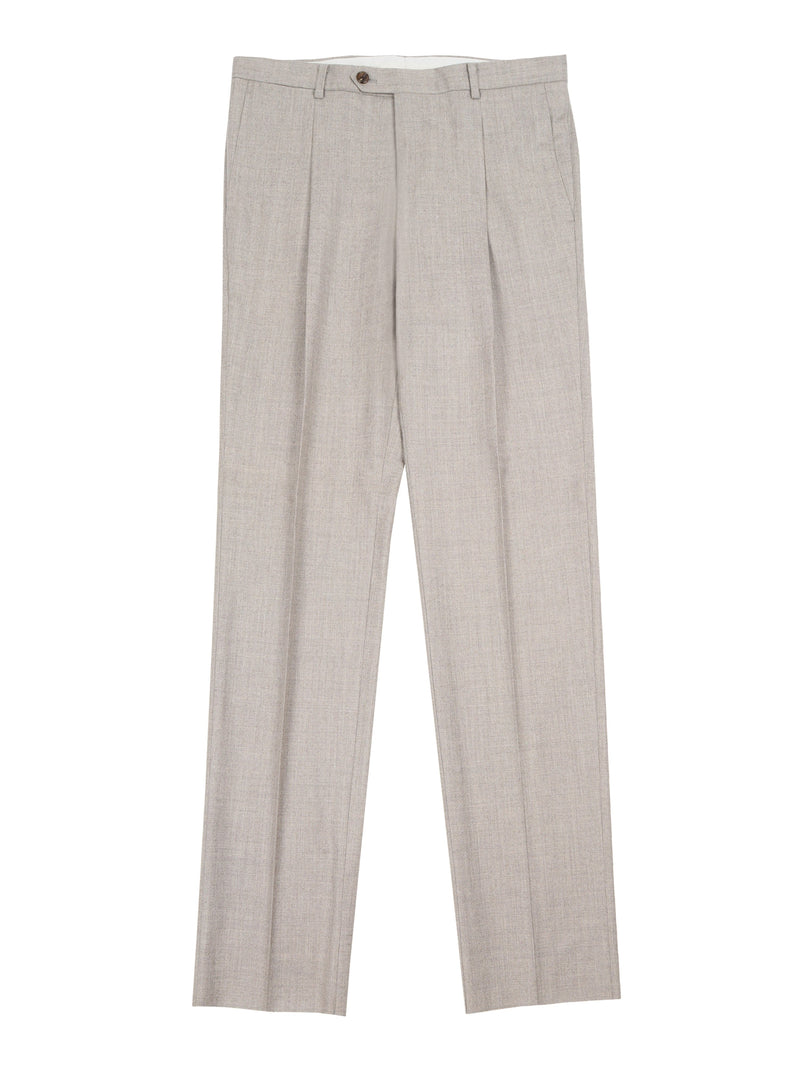 Straight-Leg Tailored Trousers