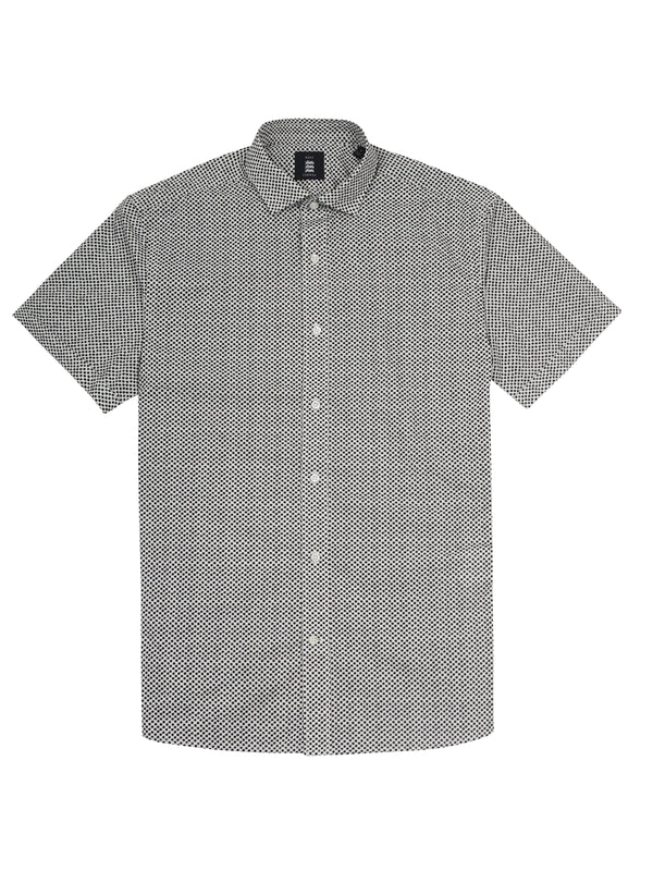 Checked Short-Sleeved Shirt