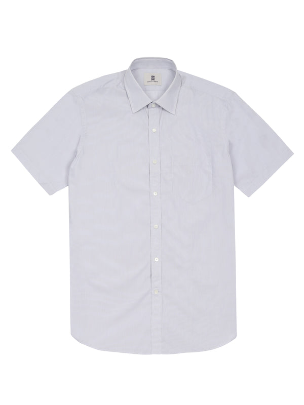 Purple short sleeveDress Shirt
