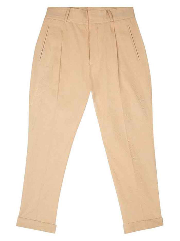 Cotton Peg Leg Trouser