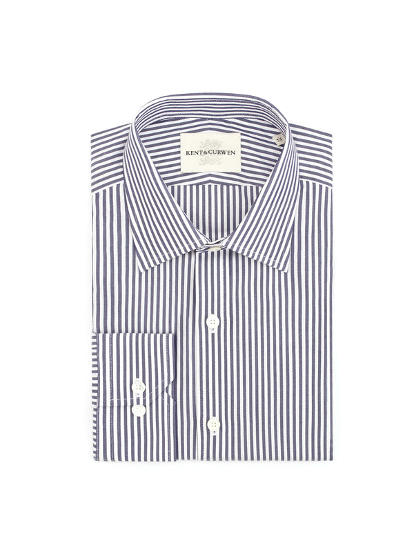 Blue long sleeve striped Shirt