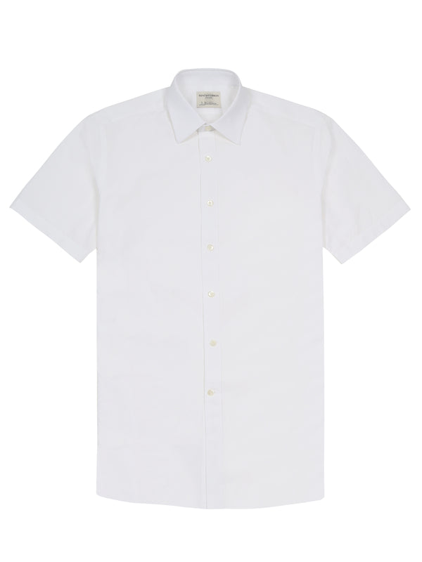 Textured Short-Sleeve Shirt