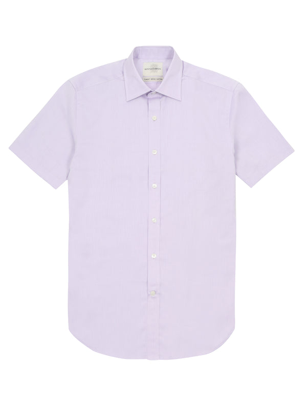 Short-Sleeved Button-Up Shirt