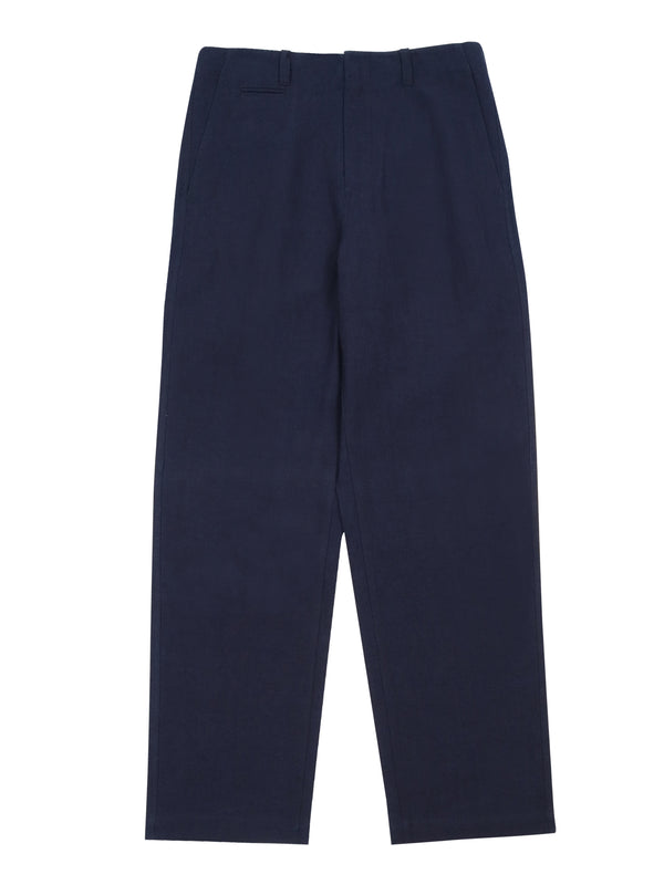 Loose-Fit High-Waisted Trousers