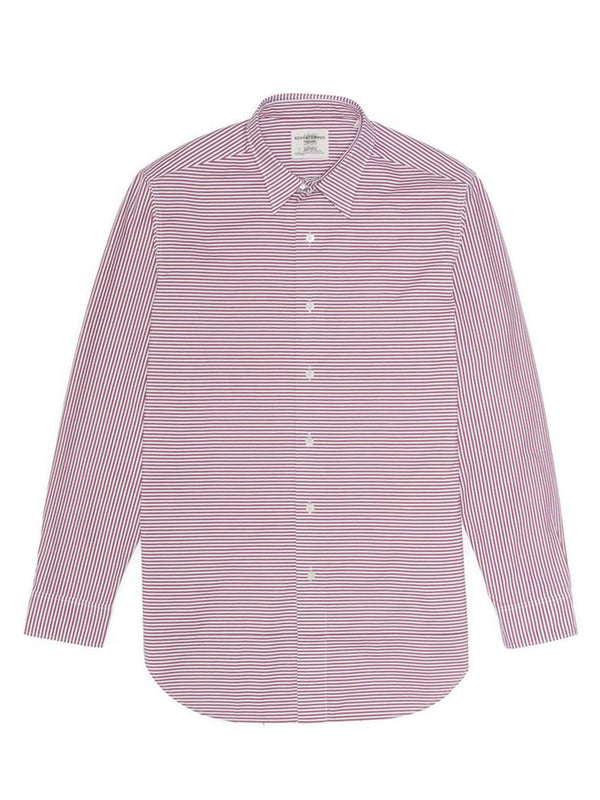 Allover Striped Button-up Shirt