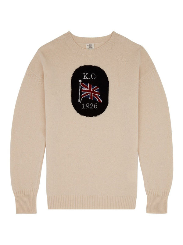 Union Flag Knitted Crewneck