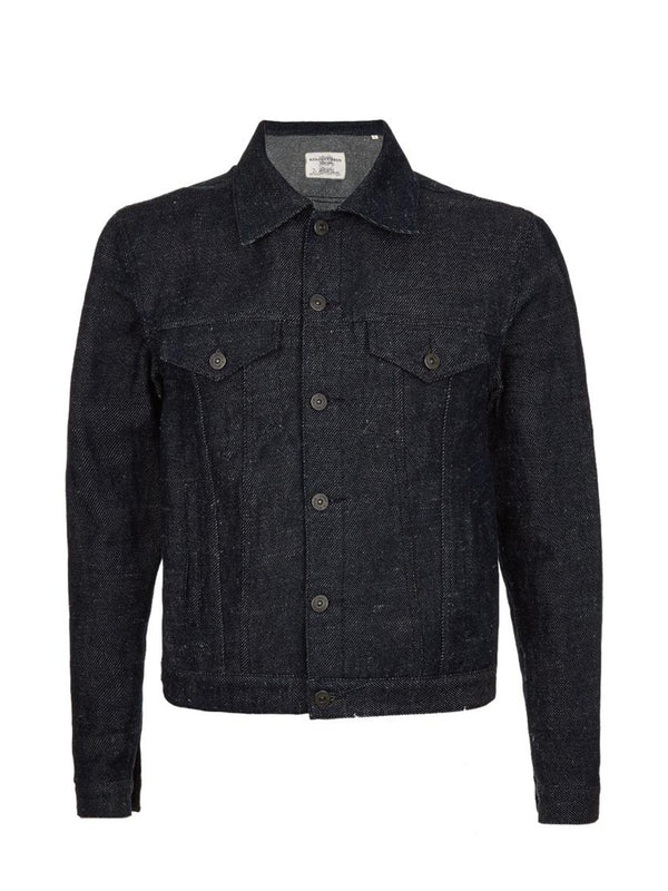 Midnight Denim Trucker Jacket
