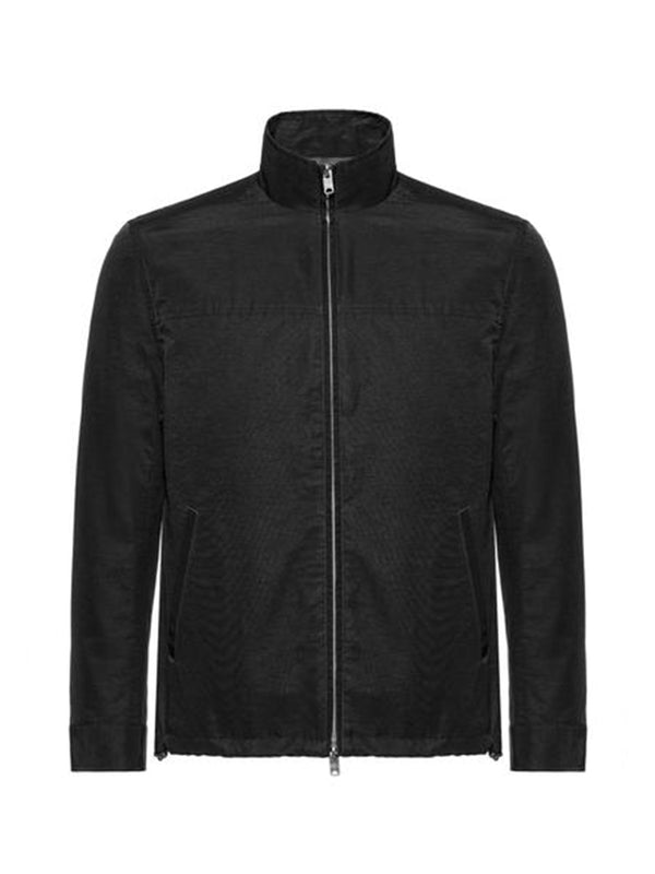 Cotton Blend Full Zip Blouson