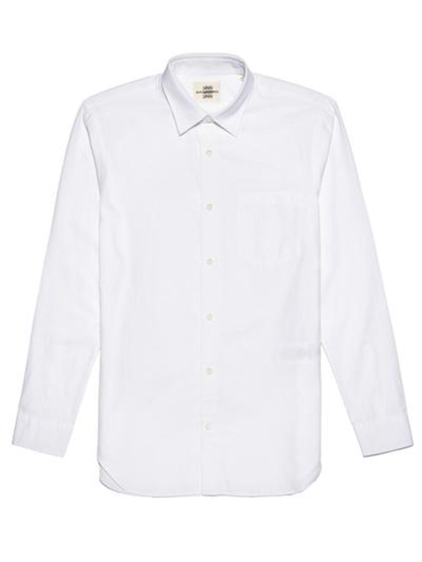 Textured Weave Button-up Shirt