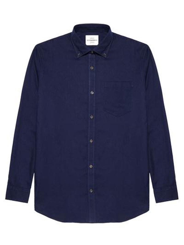 Corduroy Casual Button-up Shirt