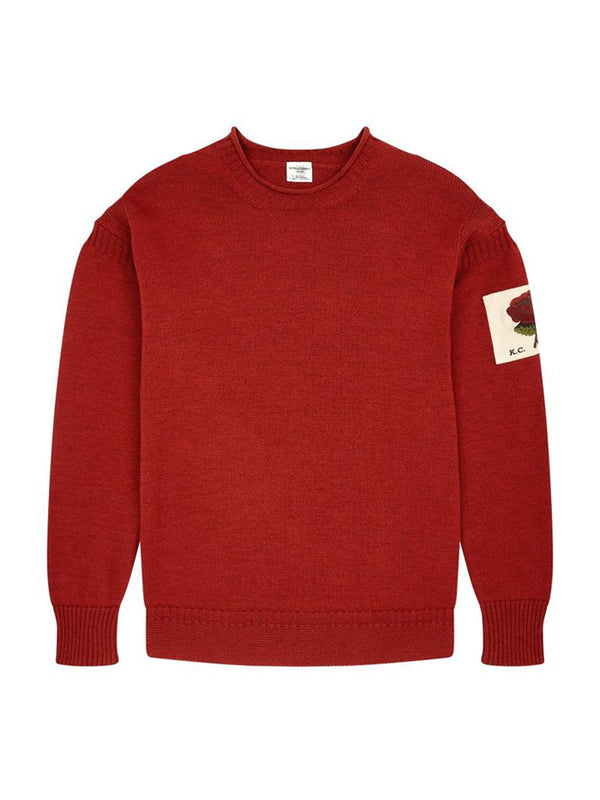 Knitted Racing Crewneck