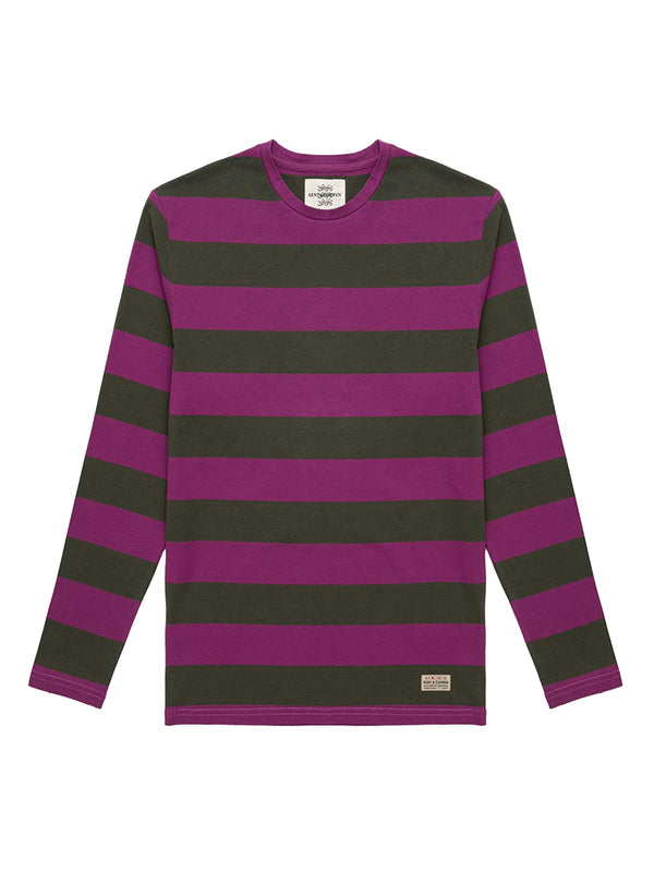 Stripe Pattern T-Shirt
