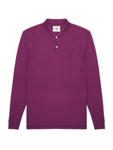 Three Lions Solid Long-sleeve Polo