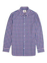 Windowpane Check Casual Button-up