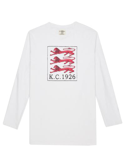 KC 1926 Three Lions Long Sleeve T-shirt