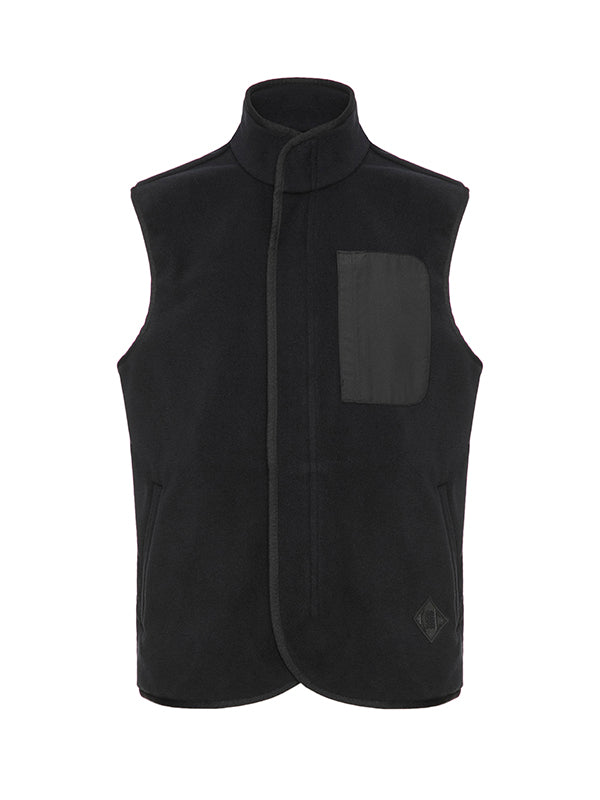 Sleeveless Zip Up Vest