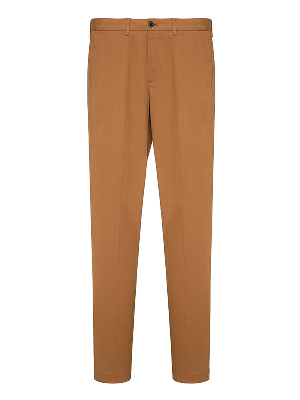 Straight Leg Mid-Rise Trousers