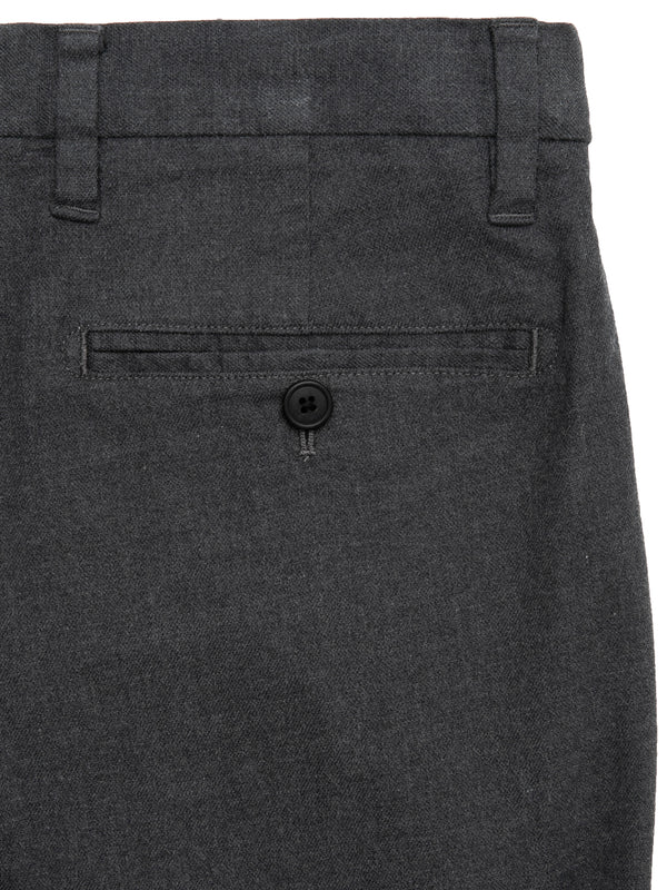 Tapered Mid-Rise Trousers