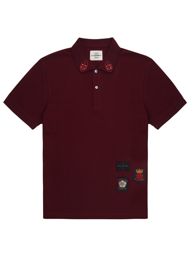 Embroidered Patches Polo Shirt
