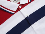 Contrasting Polo Shirt with Tipping