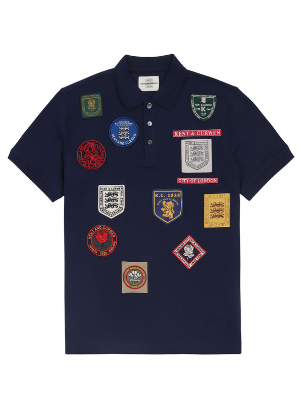 Patches Polo Shirt