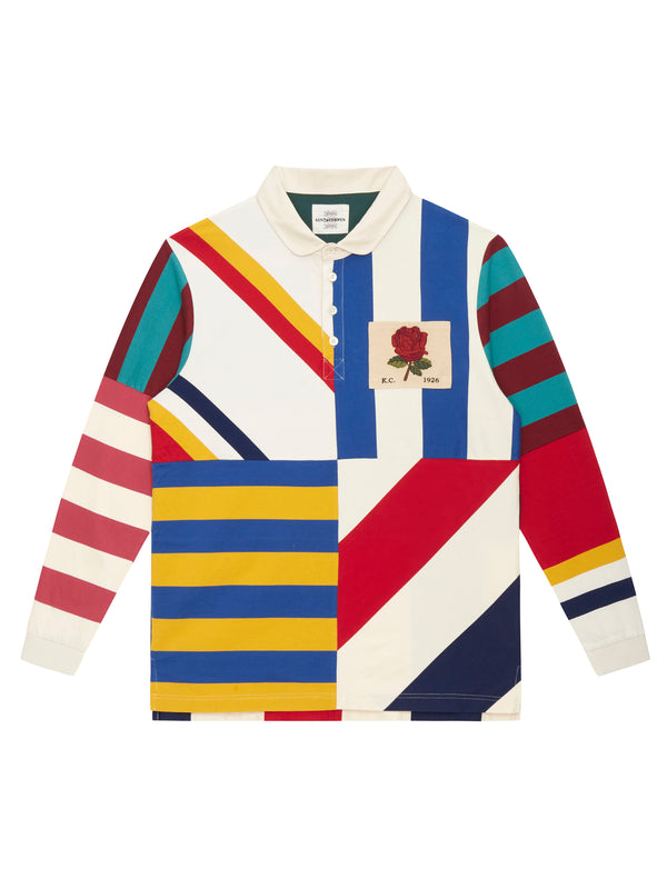 Long Sleeves Stripes Rugby