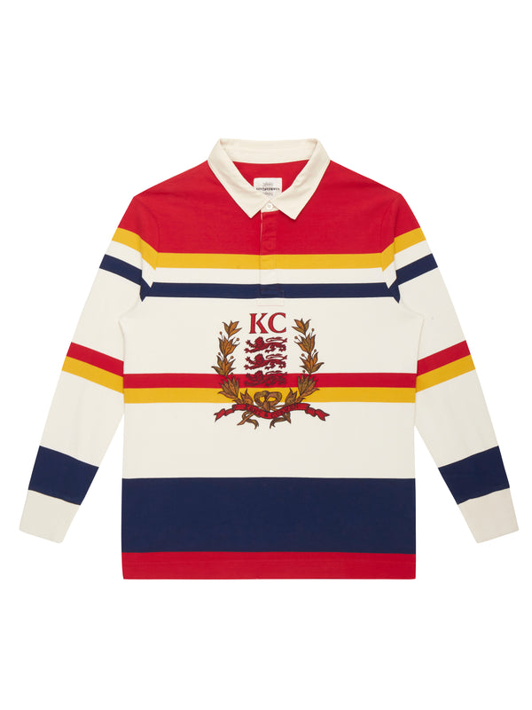 Three Lion Long sleeve Stripes Rugby
