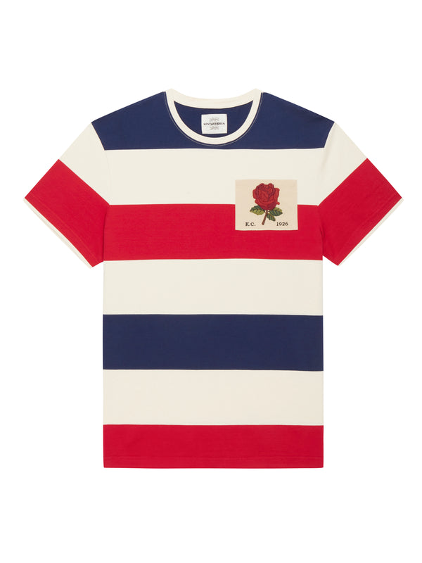 Short sleeve  Rugby Stripes T-Shirt