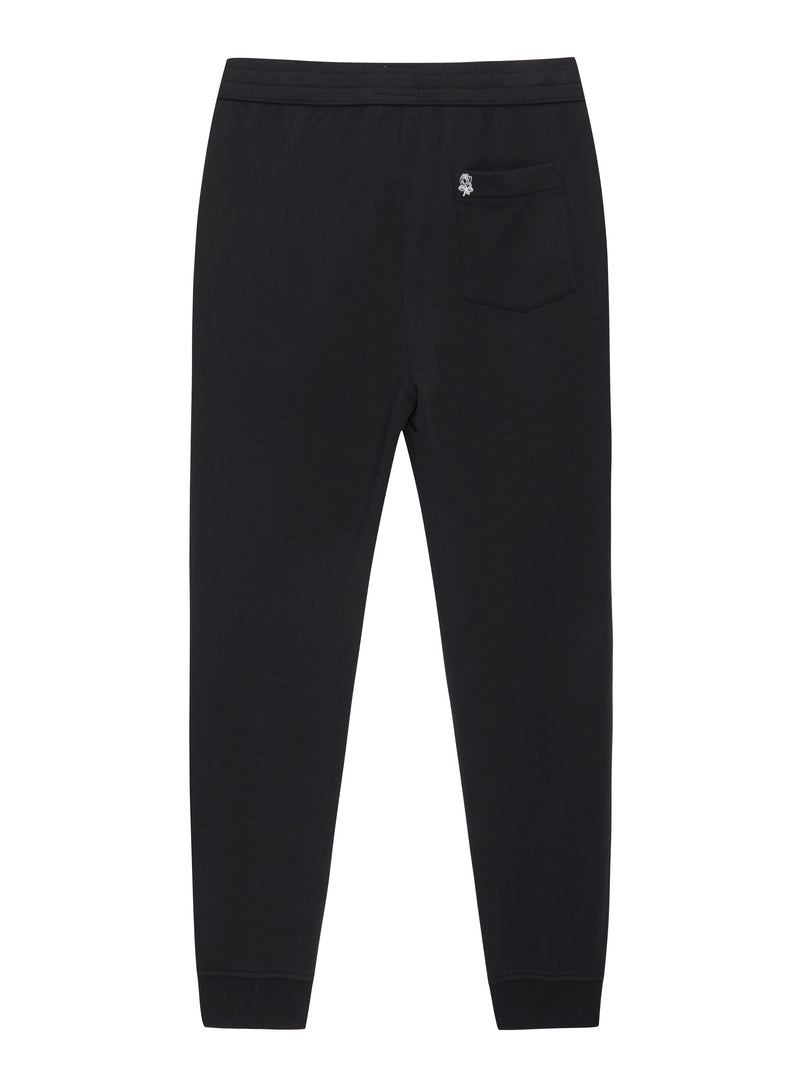 Black Knit Trackpant