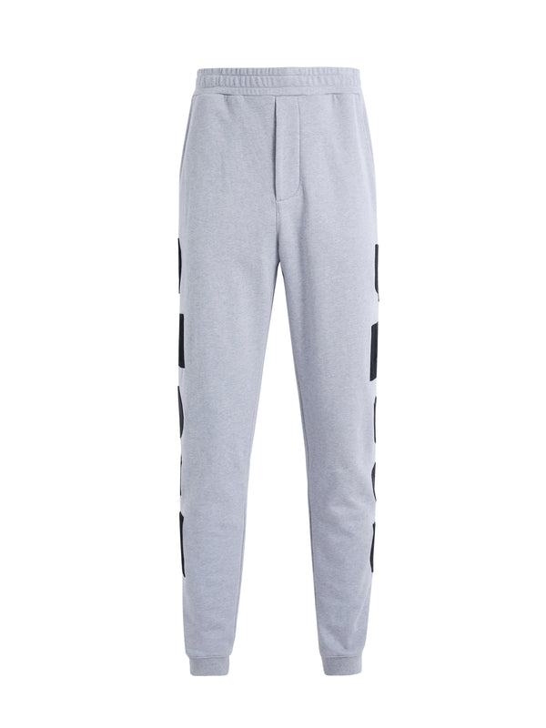 Contrast Geometric Shapes Track Pants