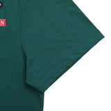 Green Cotton Patches T-Shirt