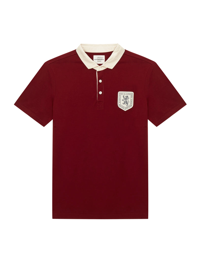 Three lion short sleeve polo