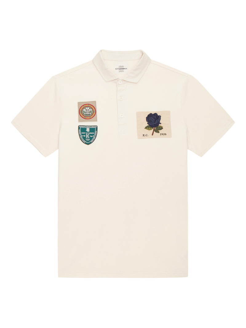 White short sleeve Rose Rugby