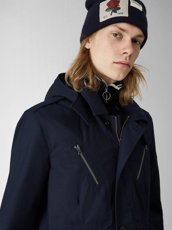 Hooded Duffle Jacket