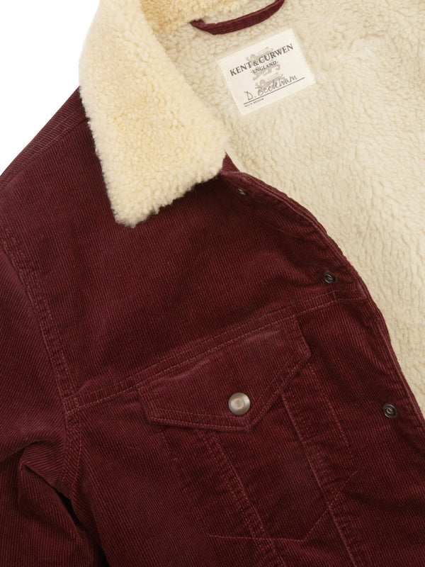 Shearling Lined Cord Jacket
