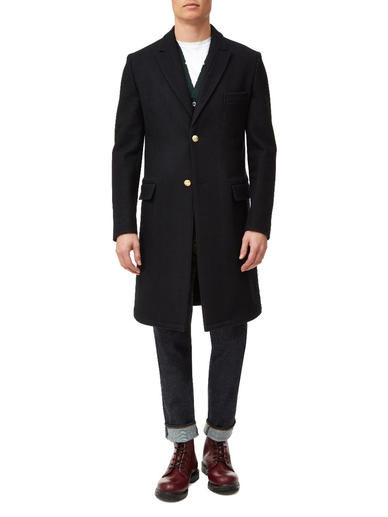 Slim Fit Overcoat