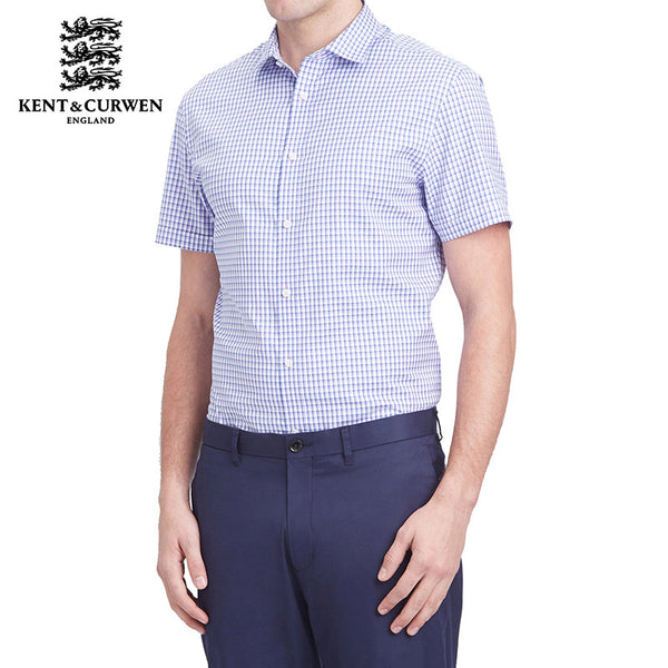 Light Purple Short Sleeve Shirt