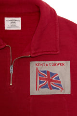 Union Jack Shortsleeve Polo Sweatshirt