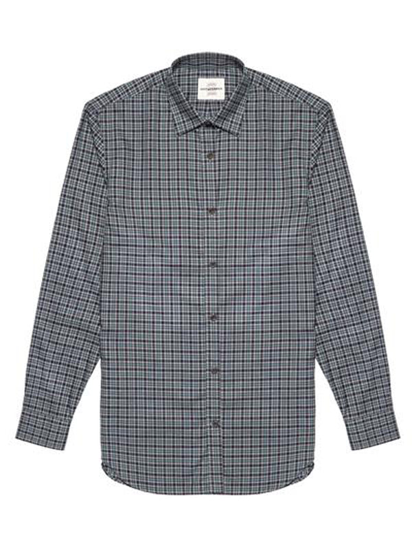 Tartan Plaid Button-up Shirt