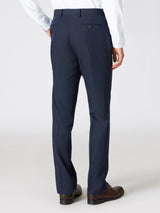 Cotton Wool Blend Dress Pants