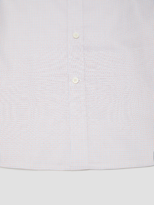 Two-toned Graph Check Short-sleeve Shirt