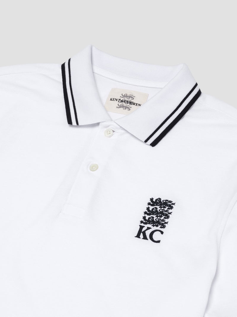 Striped Lining Three Lions Polo