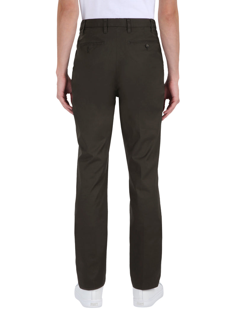 Cotton Blend Trousers