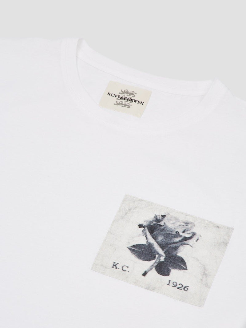 Photo Rose Patch T-Shirt