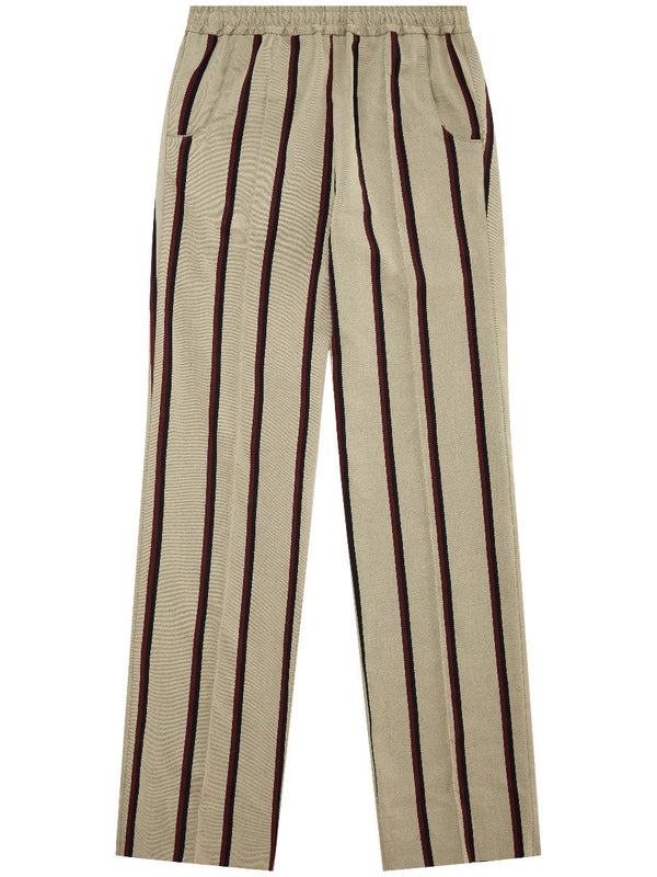 Striped Cricket Trousers