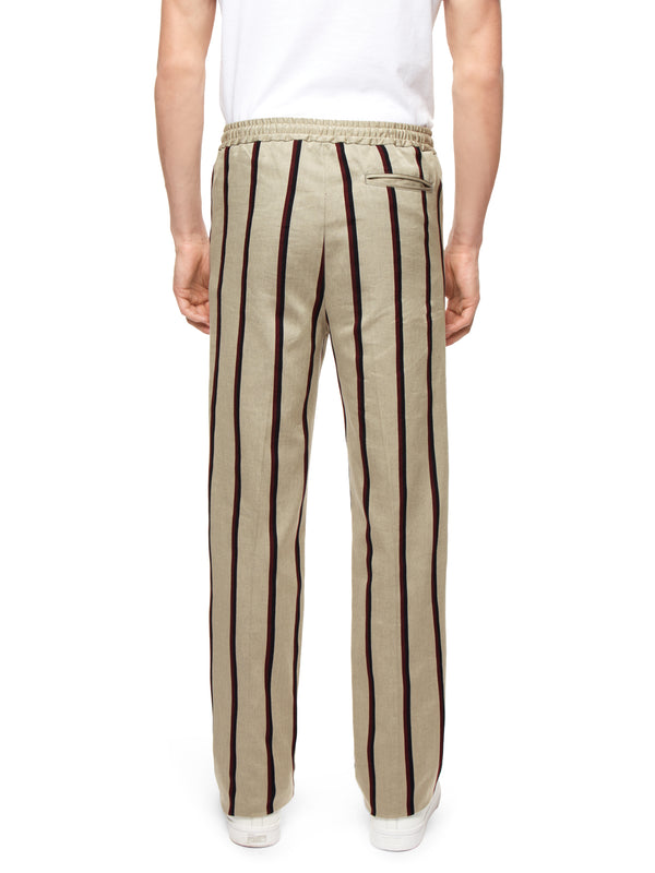 Woven Cricket Trouser With Tape